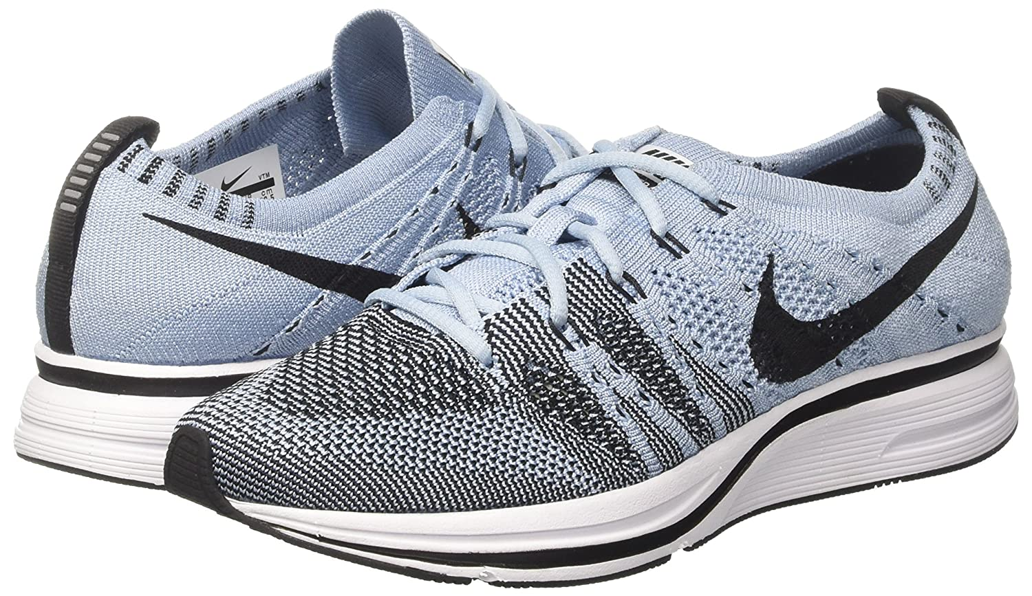 Unisex Adults Flyknit Trainer Gymnastics Shoes, Turquoise (Cirrus Blueblackwhite), 6 UK/39 EU Nike