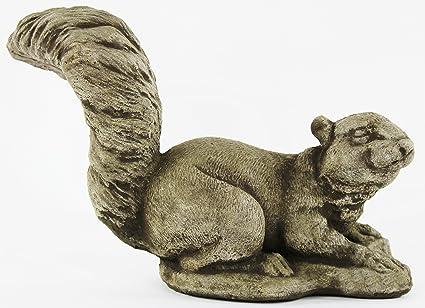 Genial Squirrel Decorative Concrete Statue Cement Garden Statue Figure Cast Stone  Sculpture Outdoor Animal Statue