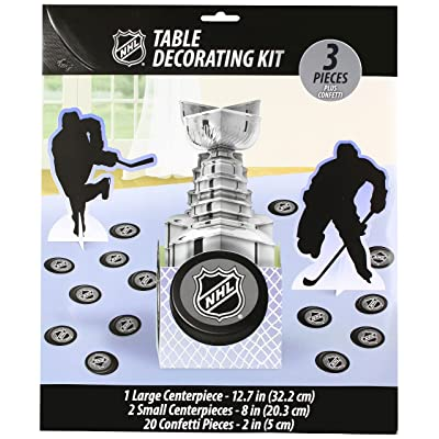 "NHL Collection"" Party Table Decorating Kit: Toys & Games,\"""