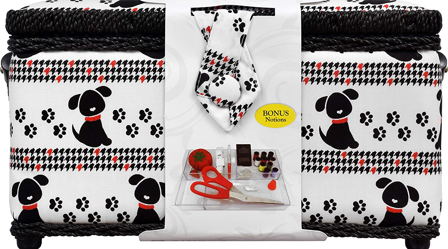 SINGER Sewing Basket with Notions - Pet Trax Puppy Dyno Merchandise