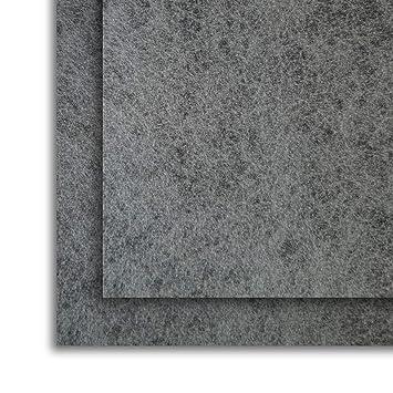 Filtro Universal para Campanas Extractoras con CARBÓN ACTIVO. 2 piezas 57x47 Centímetros, Adaptables. Anti-olor en Fibra Autoextinguible y Carbón ...