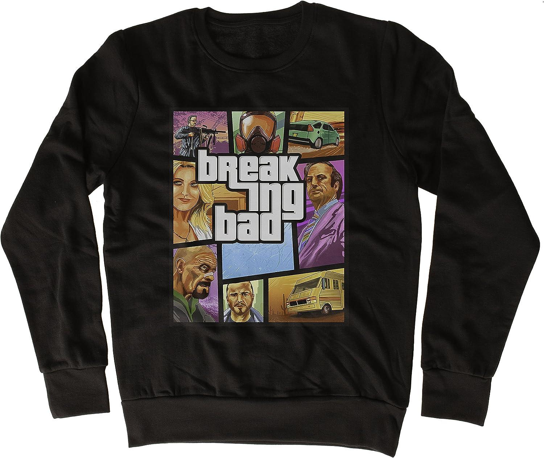 Geschenkidee Uk print king Breaking Bad GTA Poster Cooler Spruch Slogan lustiges Design