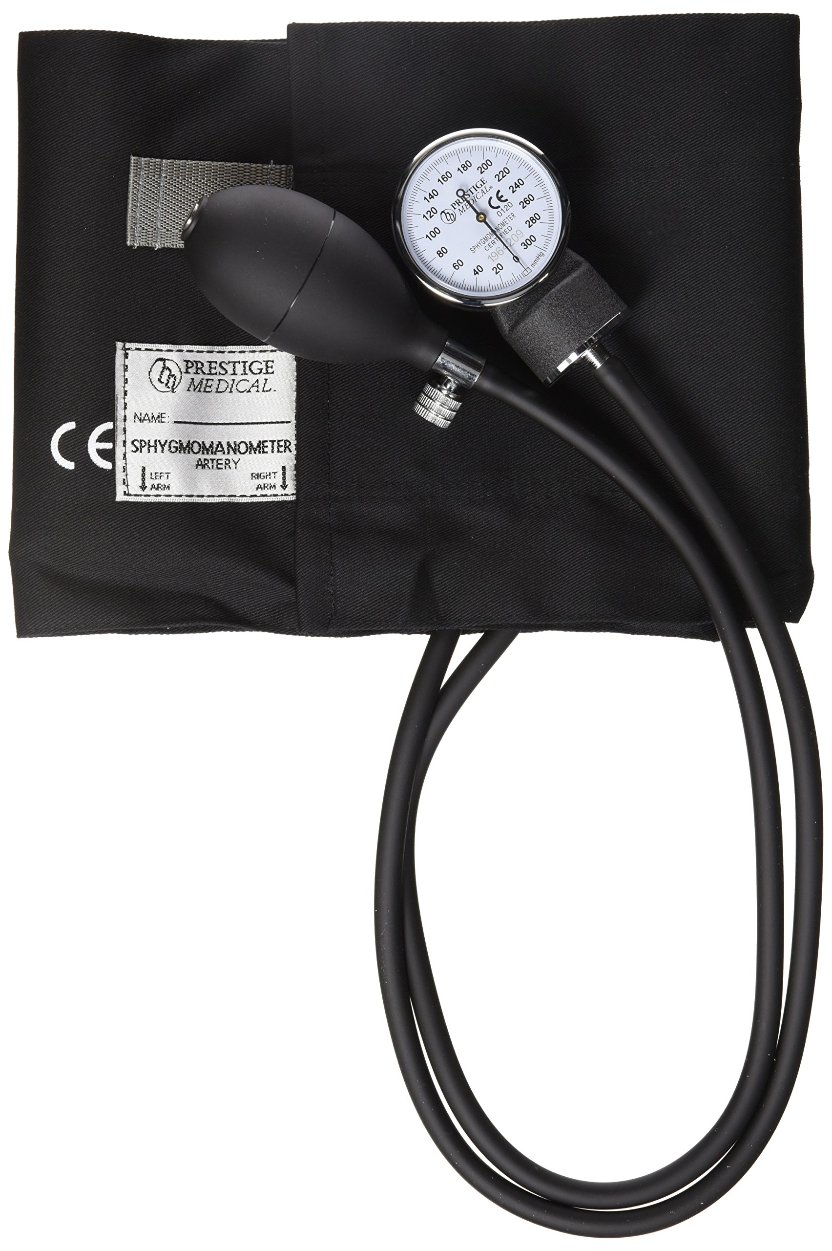 Prestige Medical Adult Cotton Cuff Aneroid Sphygmomanometer, Large, 11.6 Ounce