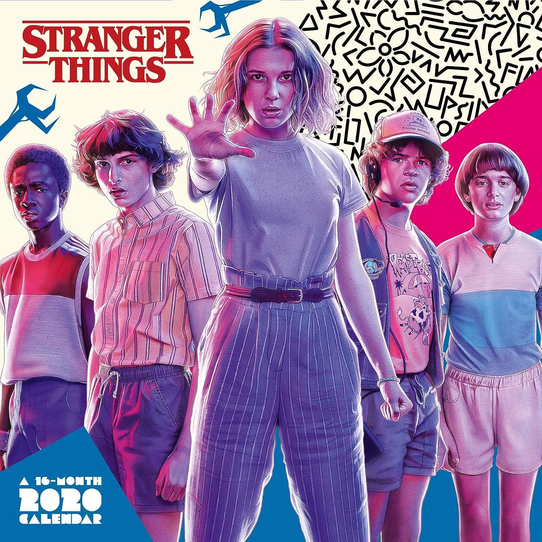 DANILO Calendario 2020 Stranger Things, 30 x 30 cm: Amazon.es: Juguetes y juegos
