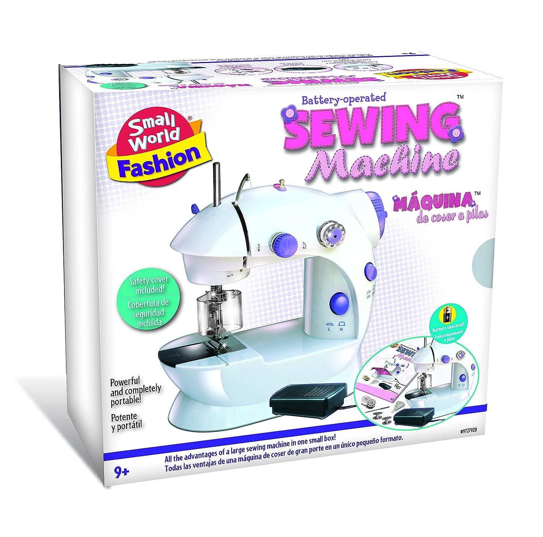 Small World Toys Pequeño Mundo Juguetes máquina de Coser, 21.08 X ...
