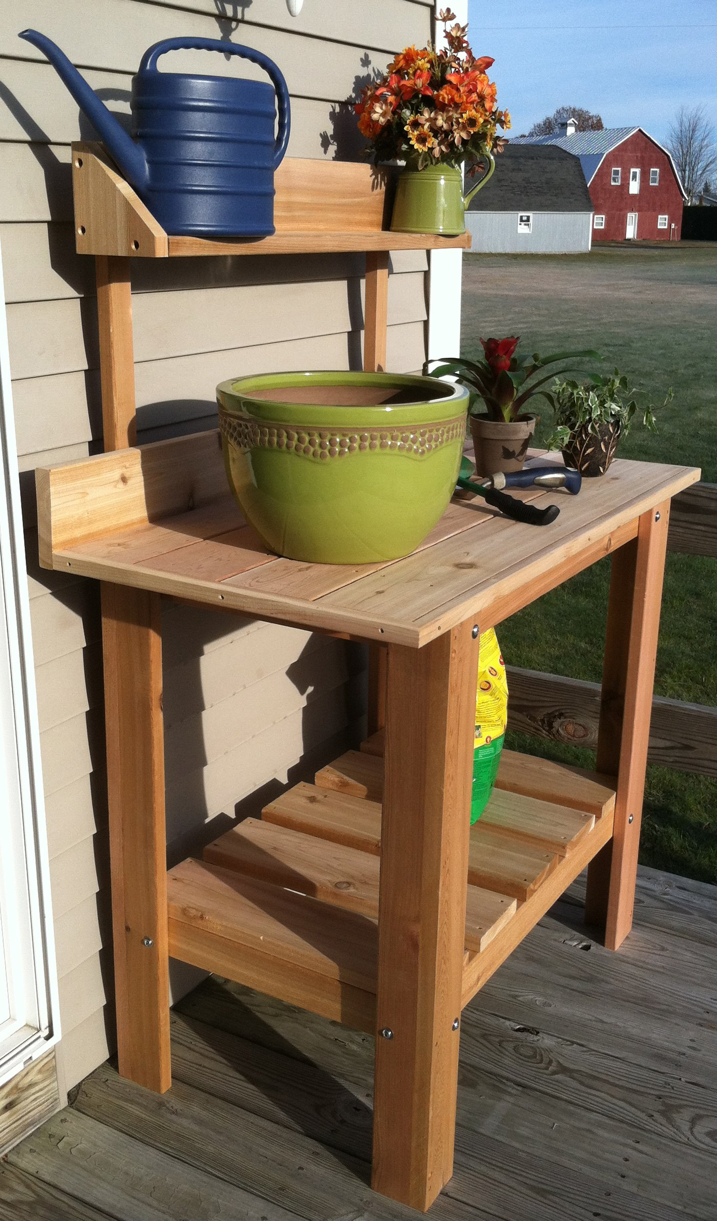 Infinite Cedar Premium Quality Potting Table by Infinite Cedar (Image #3)