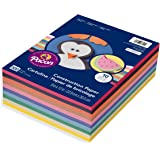 Pacon 9 x 12, 6555 Rainbow Super Value Construction Paper Ream, Assorted