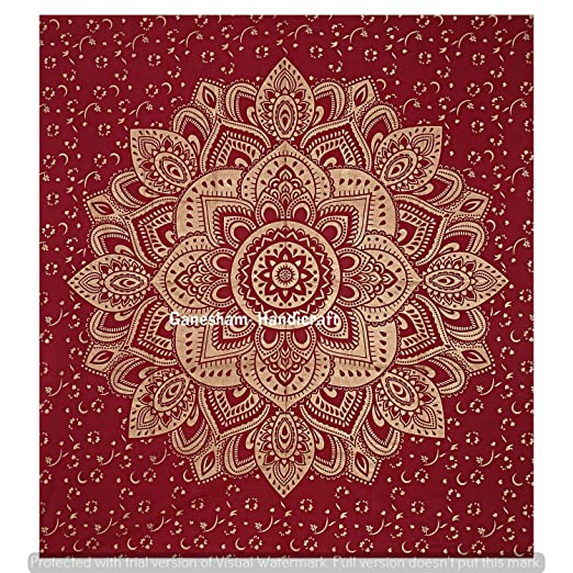 GANESHAM Queen Mandala Indio Hippie Gypsy Dorm Decoración ...