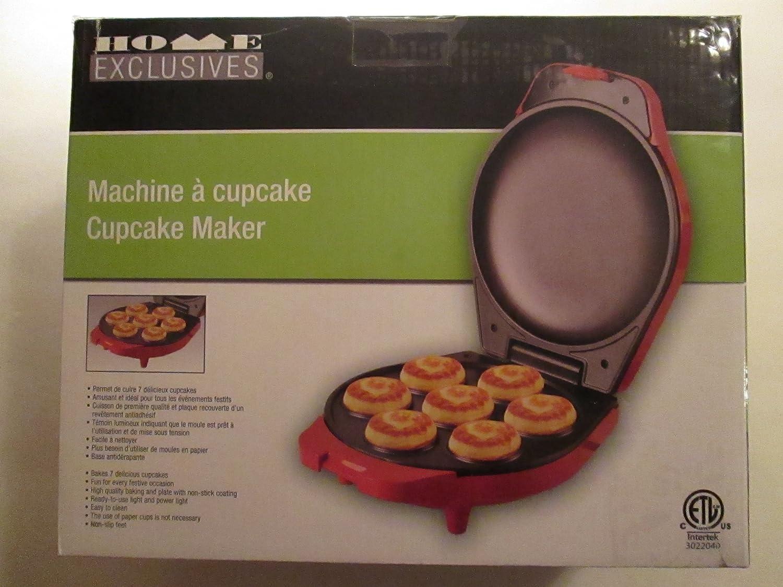 Cupcake Maker (Red) - Machine a Cupcake (Rouge).