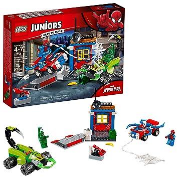 LEGO 10754 Juniors Spider-Man vs Scorpion Street Showdown