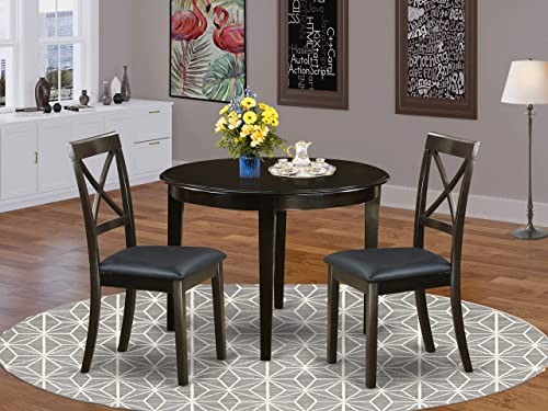 East West Furniture Kitchen Nook Table Set 3 Piece