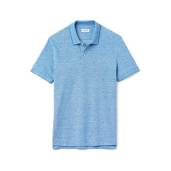 f5dd1e89ca Polo Uomo Lacoste VI Celeste Ph2062 Primavera Estate 2017: Amazon.co.uk:  Clothing