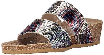 cb9c715ff46 Muk Luks Women s Ava Terra Turf Wedge Sandal
