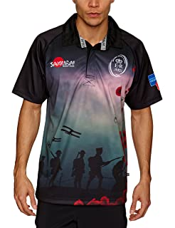 93ff7e98613 Samurai British Army Rugby Union Lest we Forget t-Shirt [Black ...