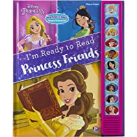 Disney Princess Belle, Mulan, Cinderella, Rapunzel, and More! - I'm Ready to Read Princess Friends Sound Book