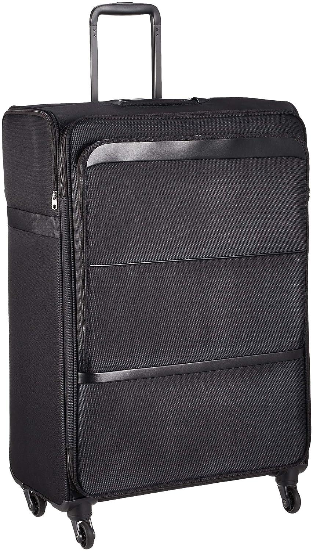 [エース] スーツケース ヴォルモクスライト 軽量 フロントポケット サイドポケット付 100L 70 cm 3.7kg B07GNN5FG5 ブラック