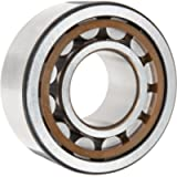 SKF NU 205 ECP/C3 Cylindrical Roller Bearing, Single Row, Removable Inner Ring, Straight Bore, High Capacity, C3…