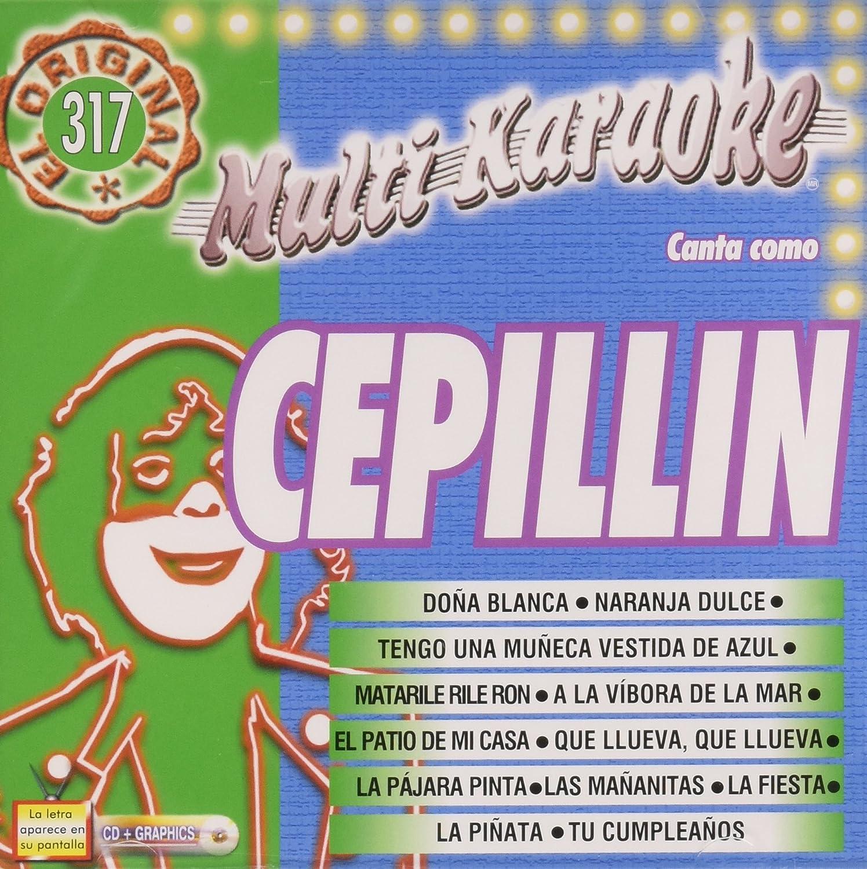 Cepillin Karaoke Cepillin Exitos Amazoncom Music