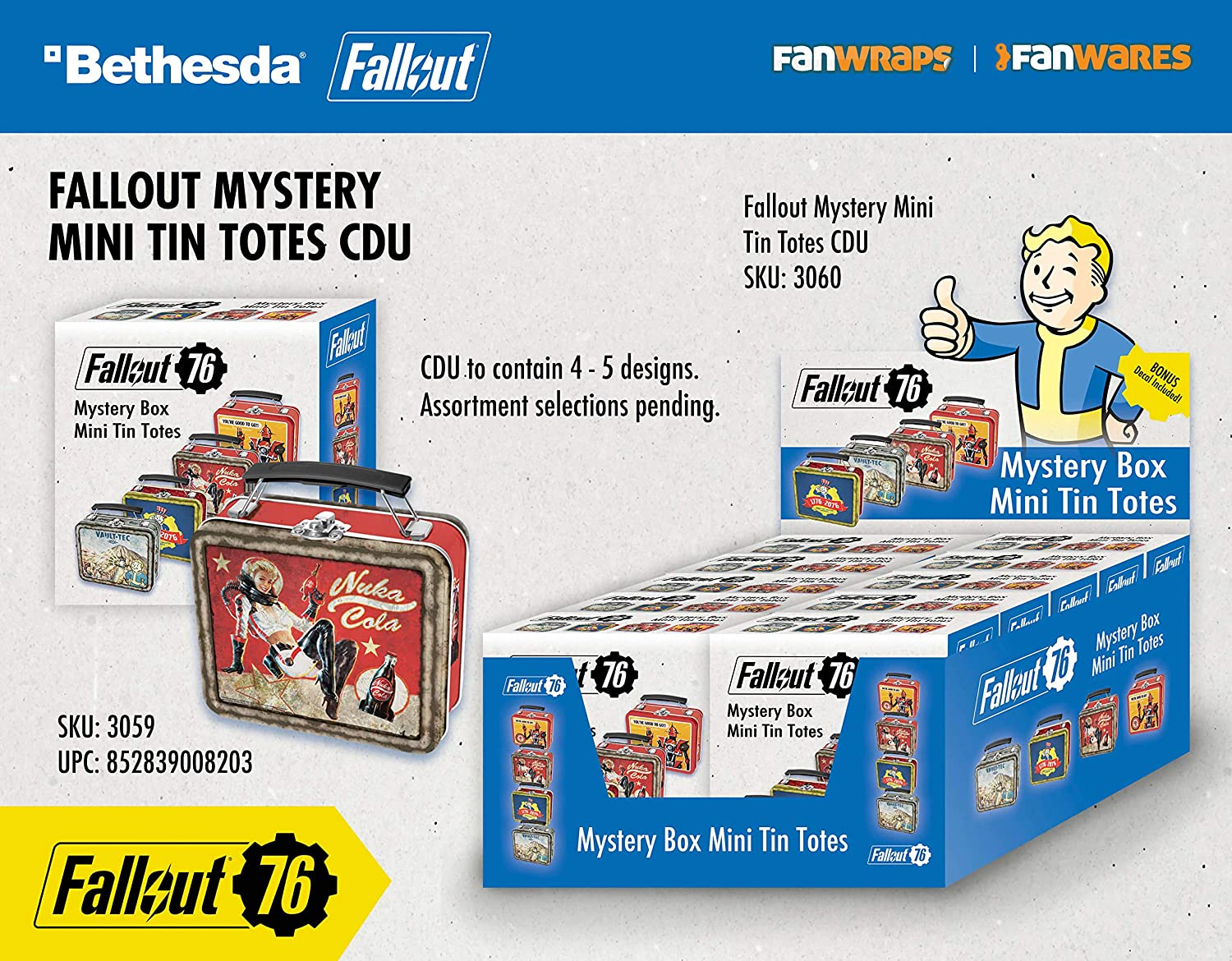Fallout 76 Mini Mystery Totes: Amazon co uk: PC & Video Games