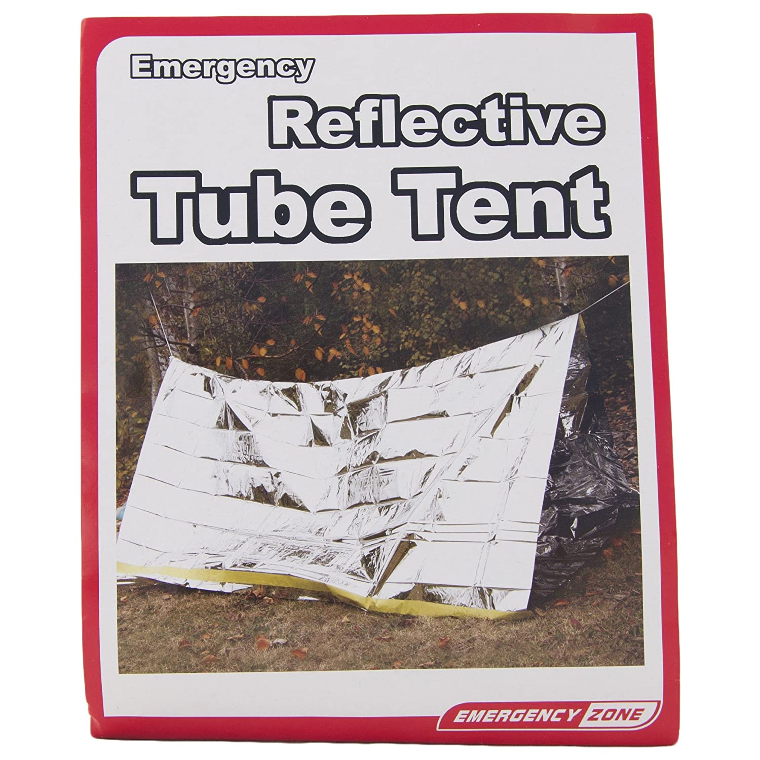 Amazon.com  Emergency Shelter Tent Reflective Tube Tent Cold Weather Emergency Shelter Emergency Zone Brand 1 and 3 Packs Available  Sports u0026 Outdoors  sc 1 st  Amazon.com & Amazon.com : Emergency Shelter Tent Reflective Tube Tent Cold ...