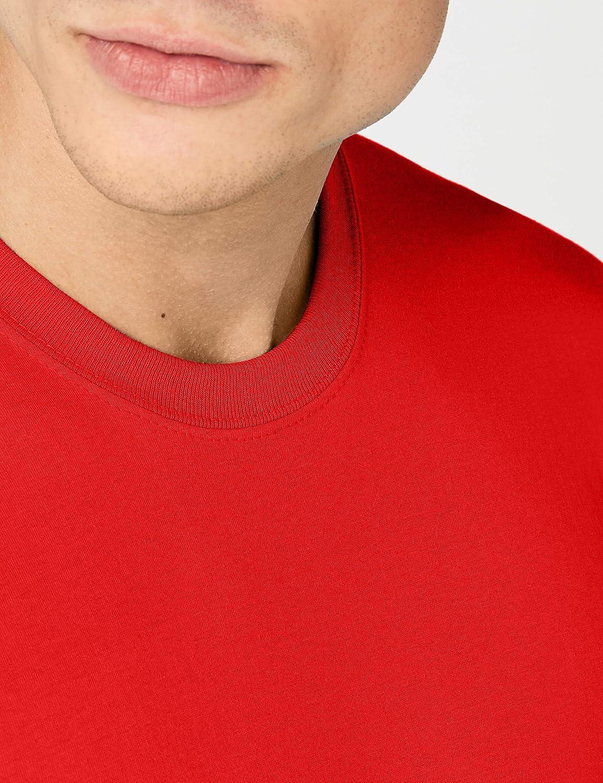 Fruit of the Loom Men's Original T. T-Shirt Red