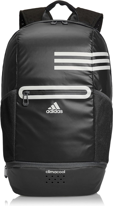 adidas Rucksack Climacool Backpack M, BlackIron Met., 25 x 18 x 50 cm, 25.4 Liter, S18191