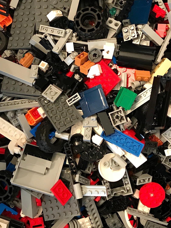 Pieces parts Bulk LEGO LOT six pound box of Bricks Tires accessories 6 pounds