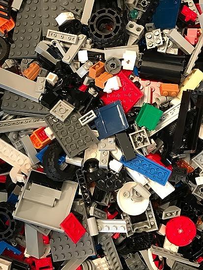 Bulk Lego 2 LB Bag of Mixed Assorted Parts Pieces Bricks Different Colors