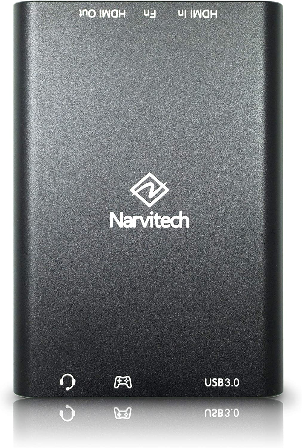 Narvitech NJ300, USB3.0 HD60 4Kp60 HDMI Bypass Game Capture Box. Streaming and Capture 1080p Video with OBS, Cyberlink Screen Recorder 4 from PS4, Xbox Game Console.