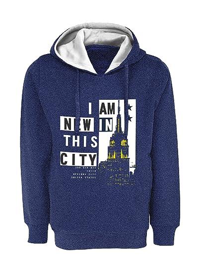4b298ab02f60 Maniac Boy s Printed Sweatshirt  Amazon.in  Clothing   Accessories