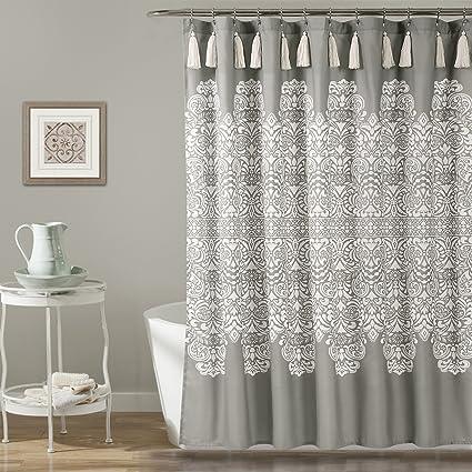 Lush Decor Dcor Boho Medallion Shower Curtain 72quot
