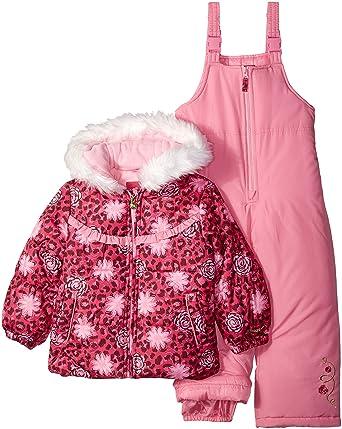 LONDON FOG Niñas Traje para Nieve - Rosado - 3 años: Amazon ...