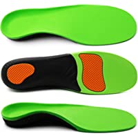 ERGOfoot Arch Supports Orthotic Insoles for Flat Feet Fight Against Plantar Fasciitis,Relieve Pronation Heel Ankle Foot…