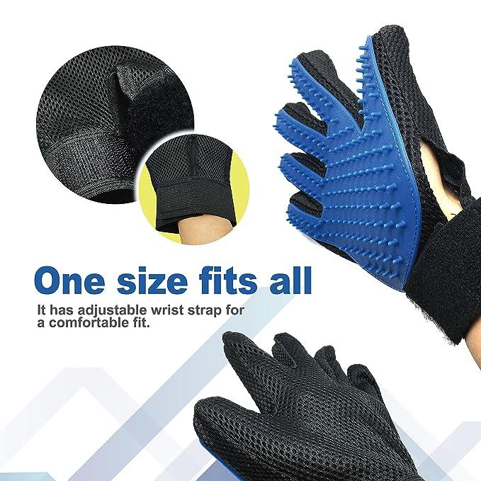 Amazon.com: furpro mascota guante de aseo – suave cepillo ...
