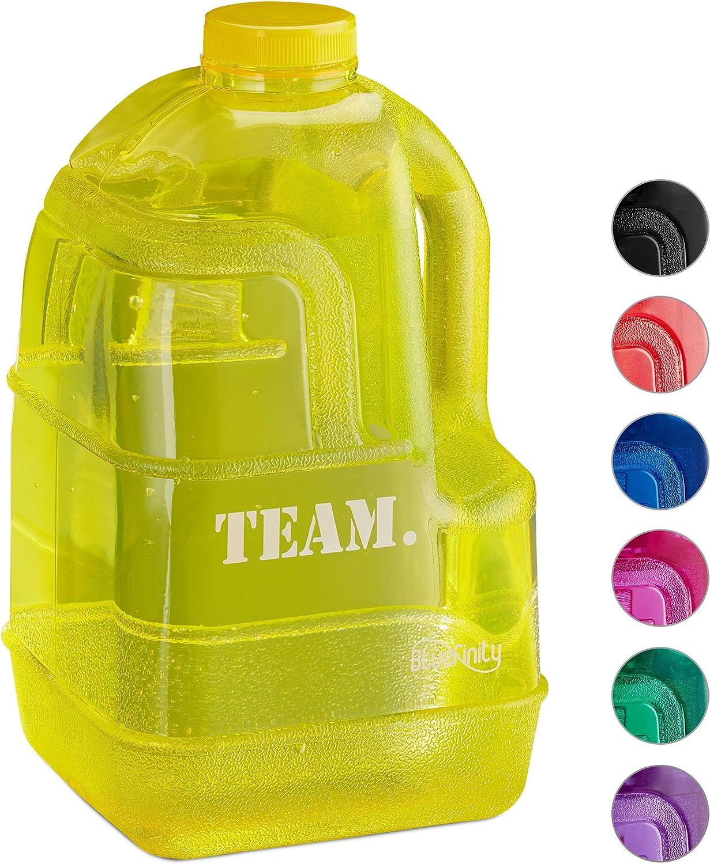 Bluefinity Botella Team de Agua para Deporte