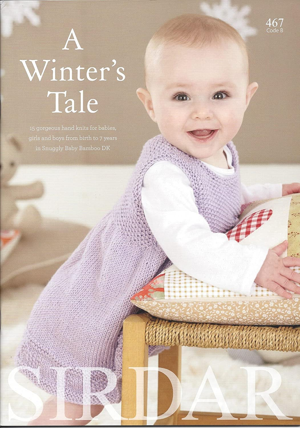 Amazon.com: Sirdar Knitting Pattern Book 467 - A Winter\'s Tale by ...