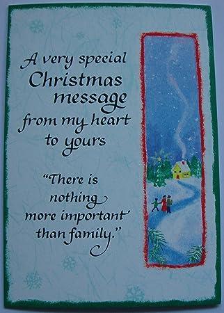 Mountain Christmas Cards.Blue Mountain Arts Family Christmas Message Christmas Card