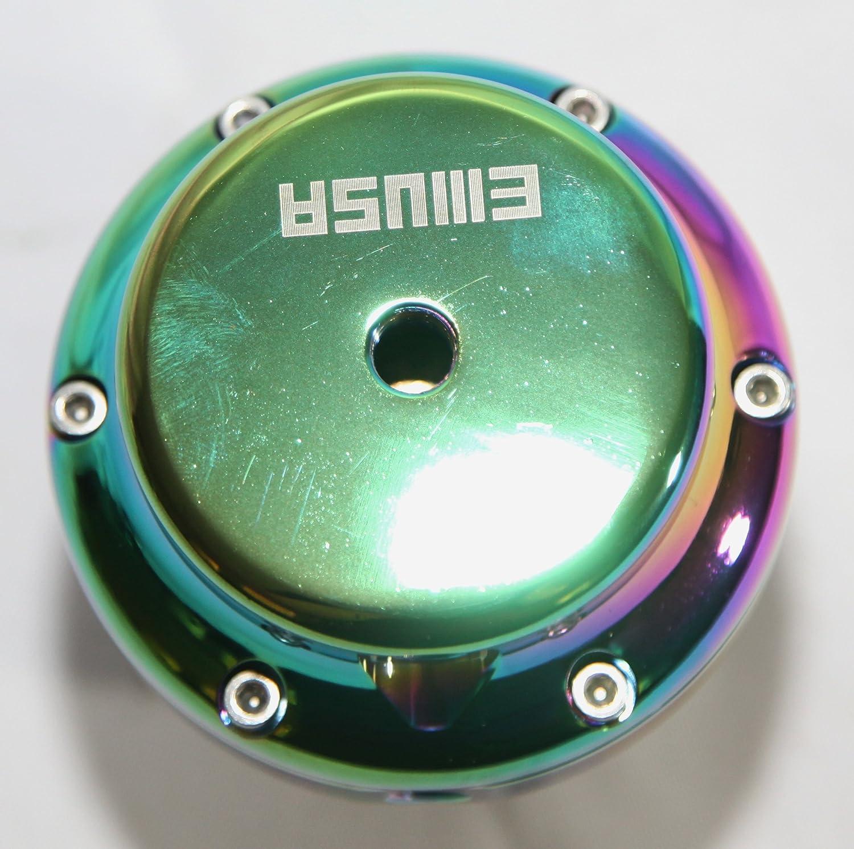 SILVER EMUSA External 38mm V-band Wastegate Set up at 14PSI