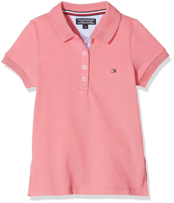 Tommy Hilfiger Girl's AME Basic S/S Polo Shirt KG0KG02465