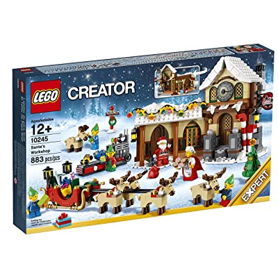 LEGO Creator Expert Santa's Workshop (10245): Toys & Games