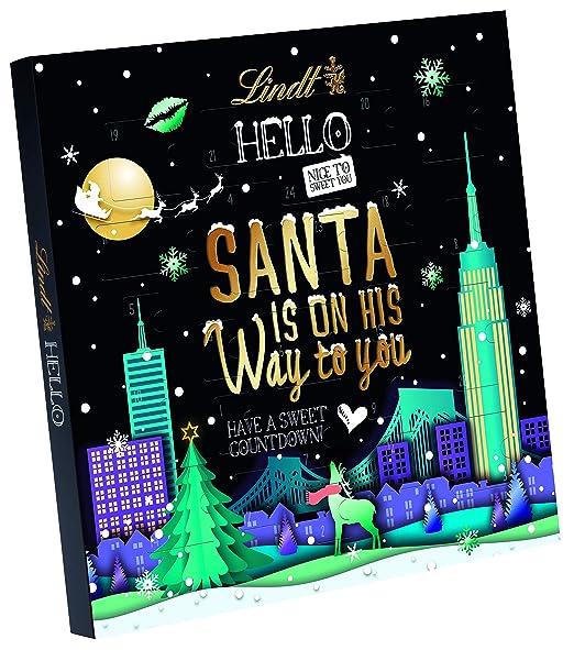 Lindt HELLO Adventskalender, 150 g: Amazon.de: Grocery