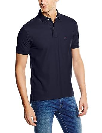 Tommy Hilfiger Herren Poloshirt Core Hilfiger Regular Polo: Amazon.de:  Bekleidung