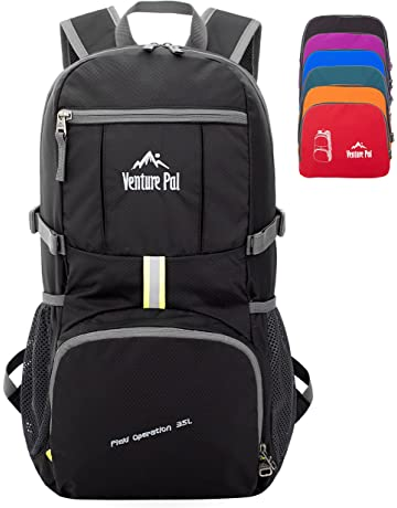 baeaf92a7b Venture Pal 40L Lightweight Packable Backpack with Wet Pocket - Durable  Waterproof Travel Hiking Camping Outdoor