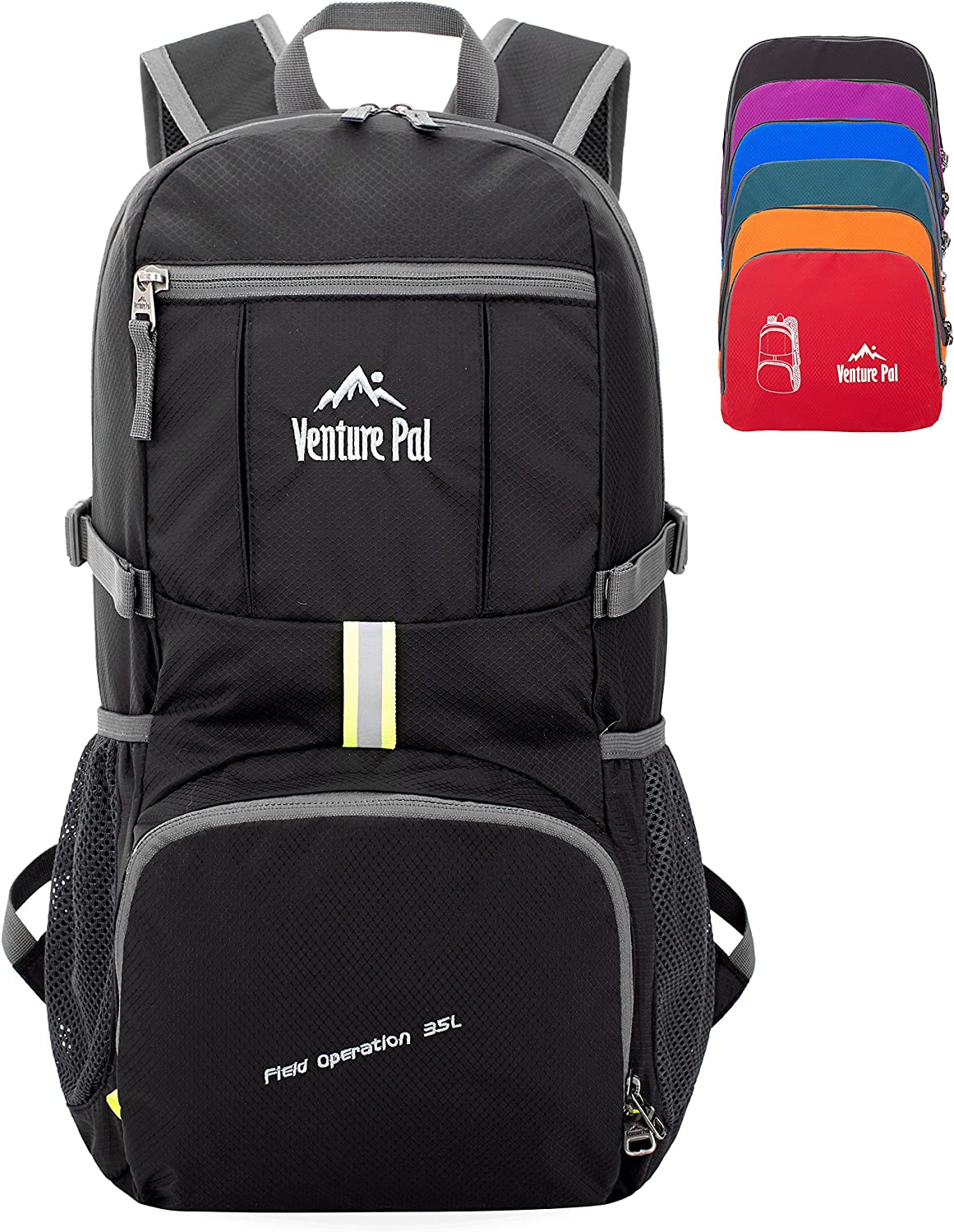 Venture Pal 35L Travel Backpack – Packable Durable Lightweight Hiking Backpack Daypack