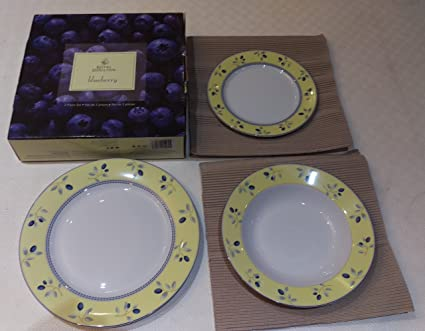 Royal Doulton Blueberry Beautiful Plates Dinnerware set & Amazon.com | Royal Doulton Blueberry Beautiful Plates Dinnerware set ...