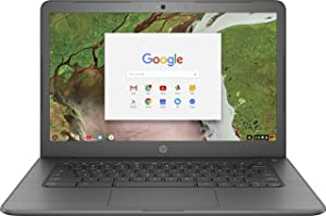 HP Chromebook 14-ca061dx - 14in HD Touch - Celeron N3350 - 4GB - 32GB eMMC - Gray (Renewed)