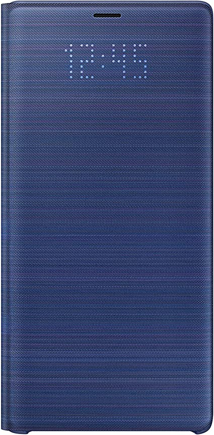 Samsung Led View - Funda para Galaxy Note 9, color azul- Version ...
