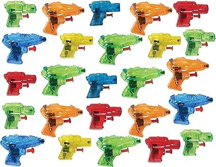 Amazon.com: Present Avenue - Mini pistola de agua colorida ...