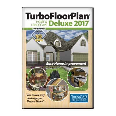 TurboFloorPlan Home and Landscape Deluxe 2017 [Download]