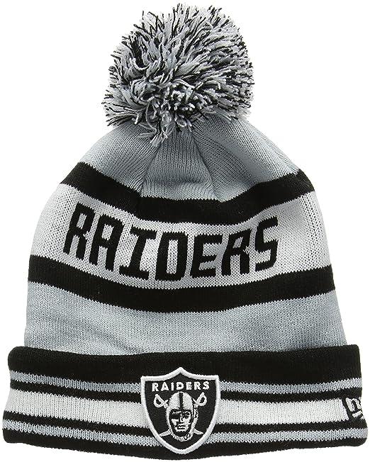 New Era Bobble Knit Oakland Raiders 8099b3d7f3cd